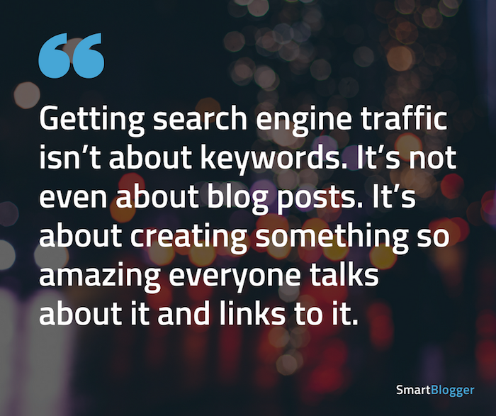 getting search engine traffic