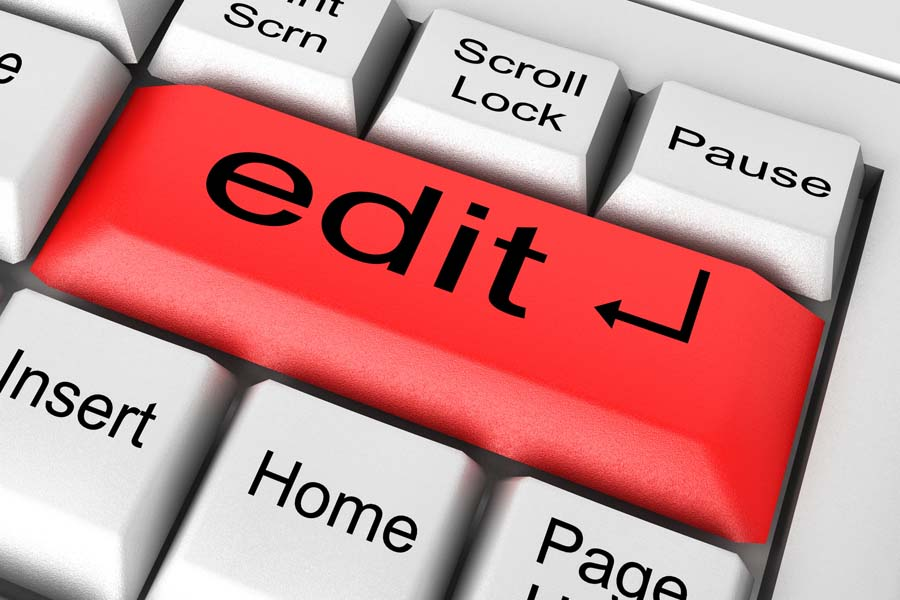 Writing Tip: Edit (a Lot)