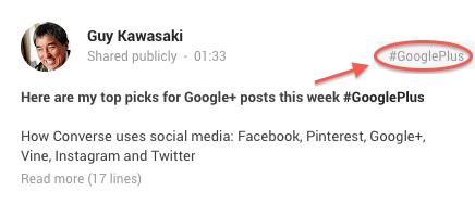 google-post-hashtags-arrow