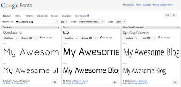 google-font-review