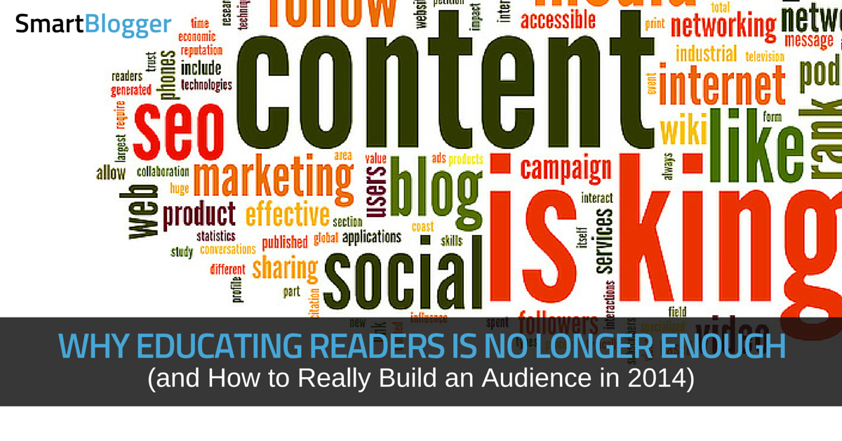 how to build a non-writer audience