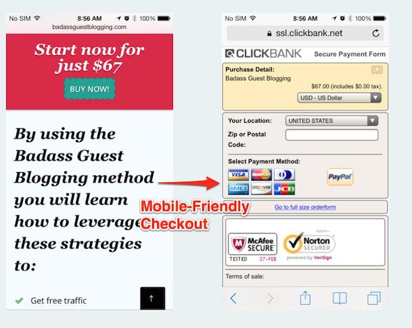 clickbank-checkout
