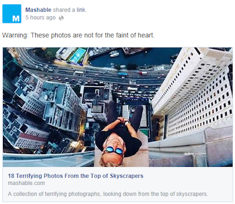 Mashable-facebook-post
