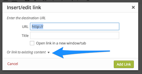 link-to-existing