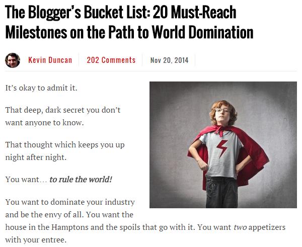 published guest blogs