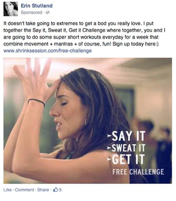 empathetic statement Facebook ad