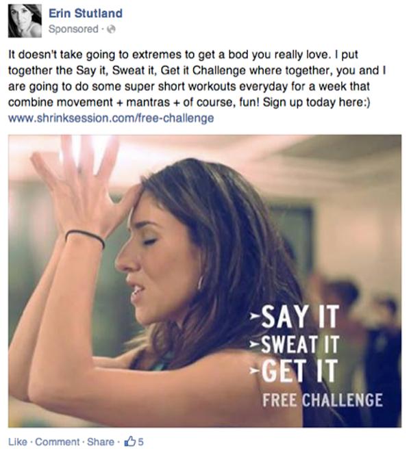 empathetic statement Facebook ad