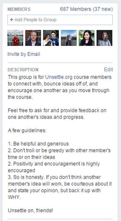 Facebook members