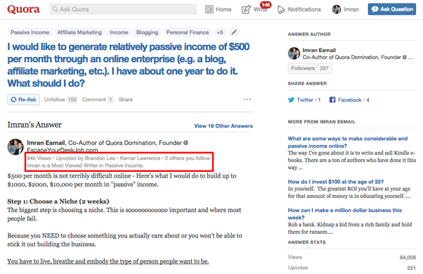How to Turn Quora into a Traffic-Driving Machine for Your Blog