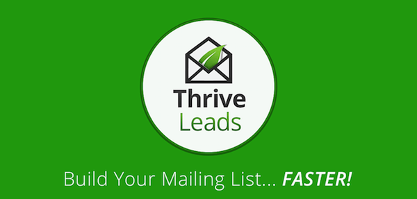 Thrive Leads WordPress Plugin