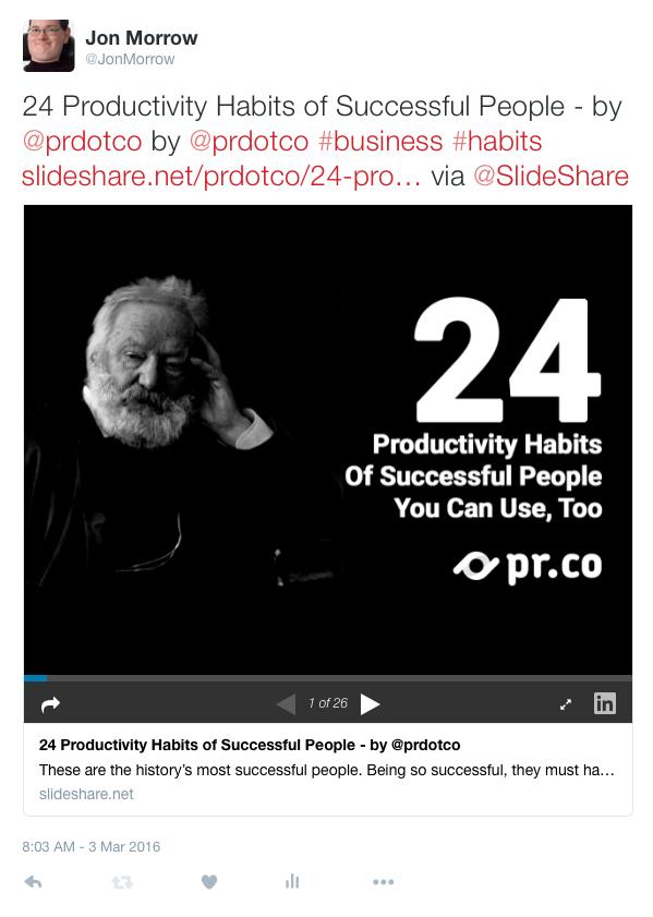 SlideShare - Tweet Image 3