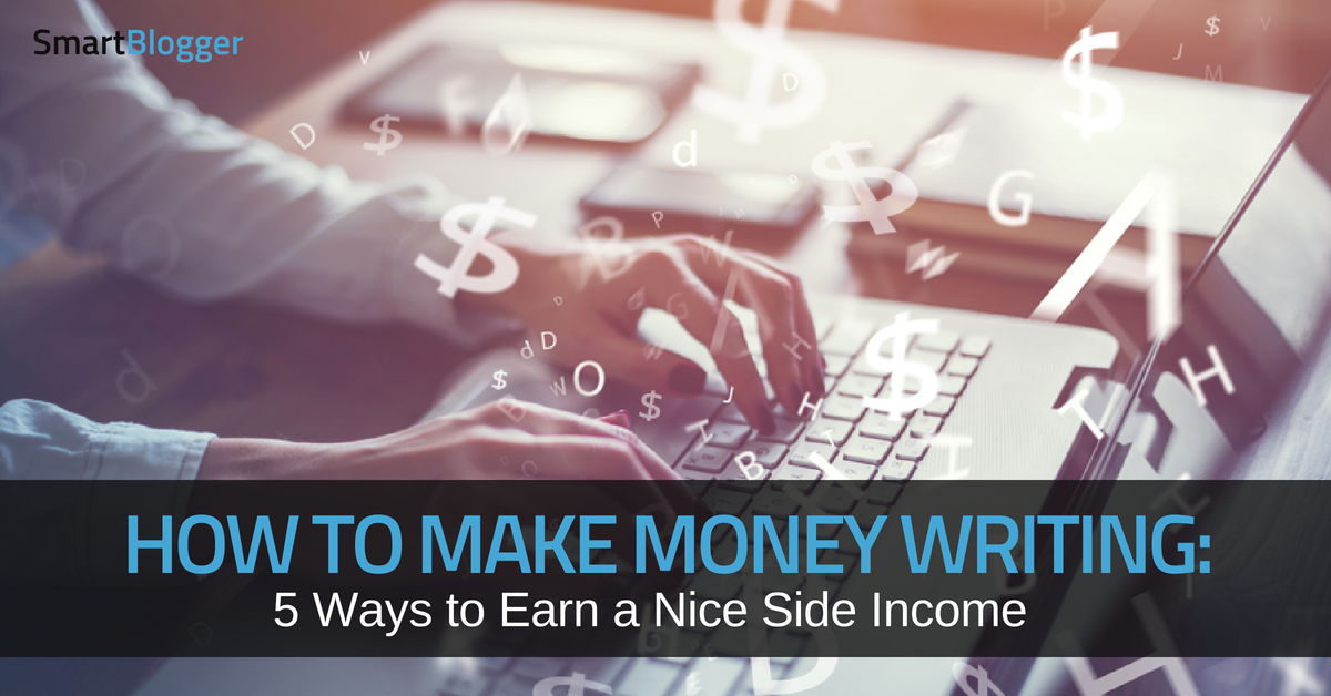 Making money as a writing service