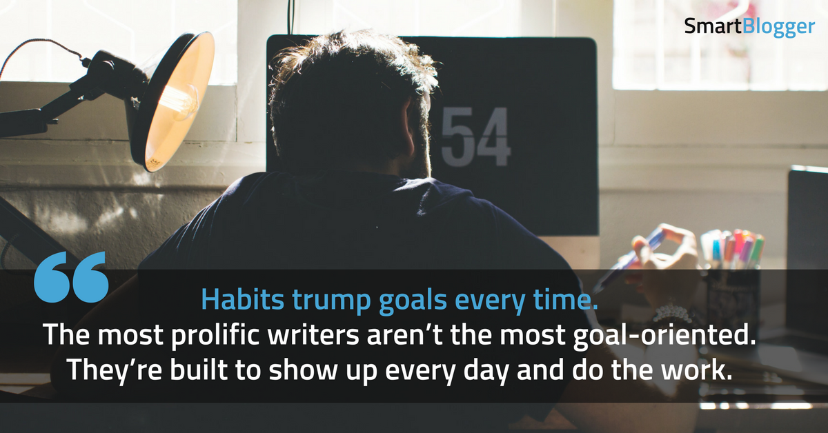 habits trump goals