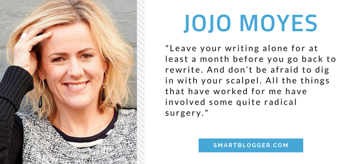 Jojo Moyes - Writing Tips