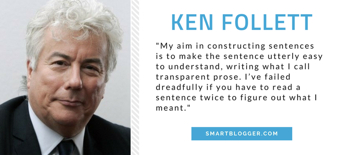 Ken Follett - Writing Tips