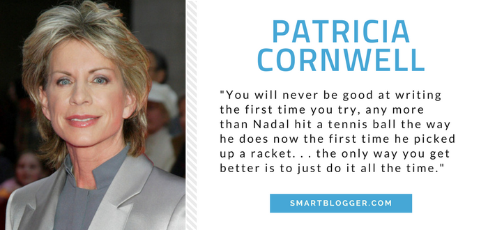 Patricia Cornwell - Writing Tips