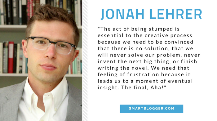 Jonah Lehrer - Writing Tips