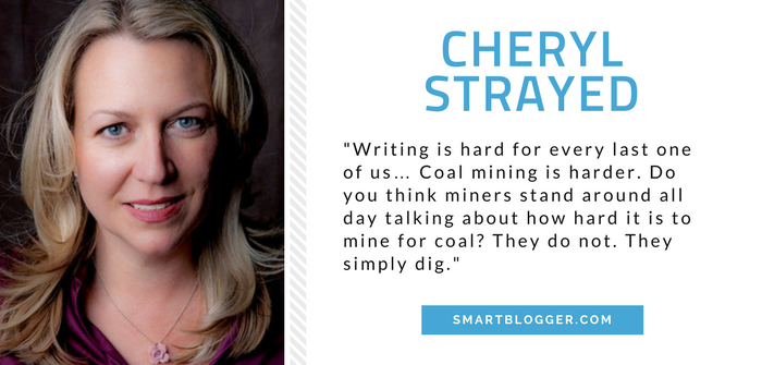 Cheryl Strayed - Writing Tips