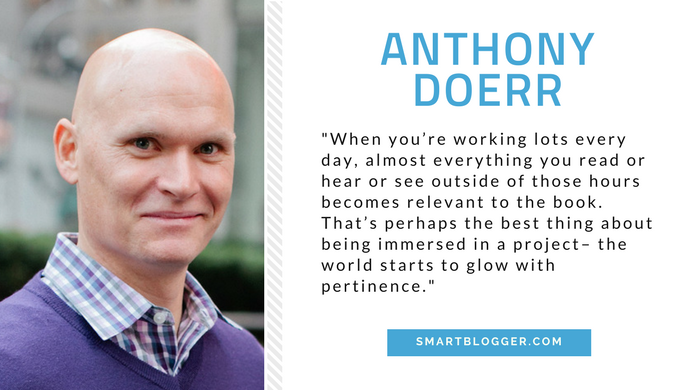 Anthony Doerr - Writing Tips