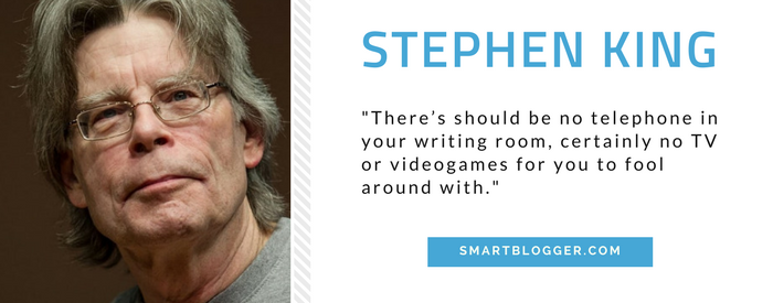 Stephen King - Writing Tips