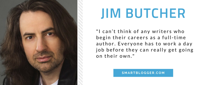 Jim Butcher - Writing Tips