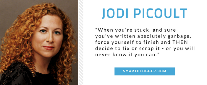 Jodi Picoult - Writing Tips