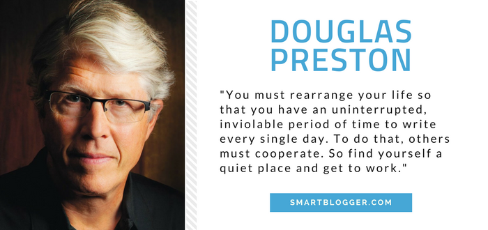 Douglas Preston - Writing Tips