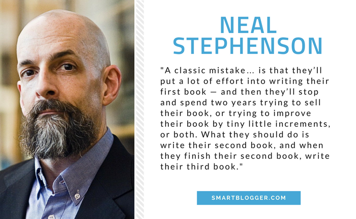 Neal Stephenson - Writing Tips