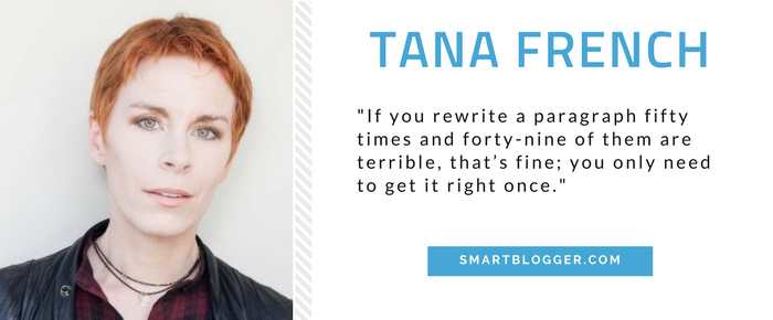 Tana French - Writing Tips