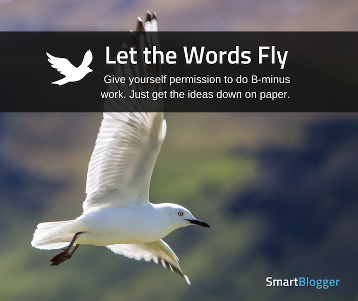let the words fly