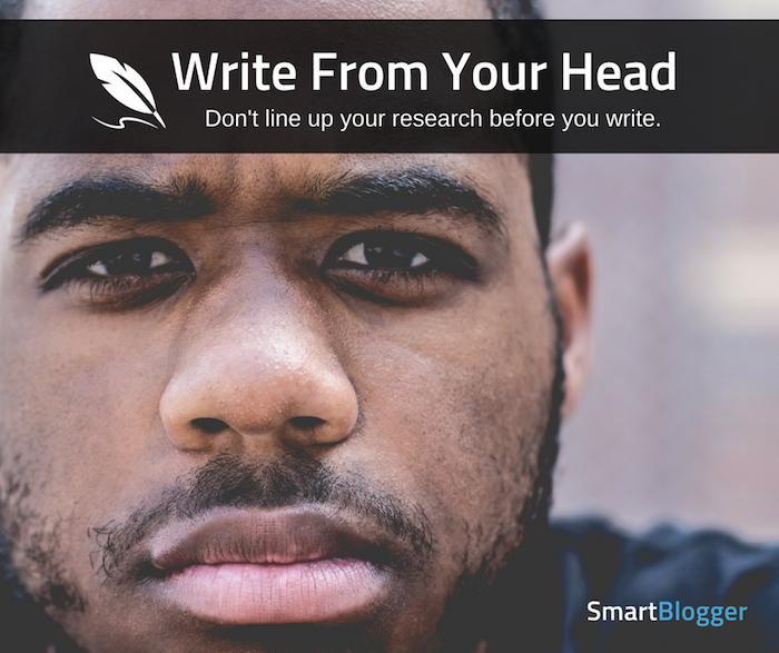 escribe desde tu cabeza