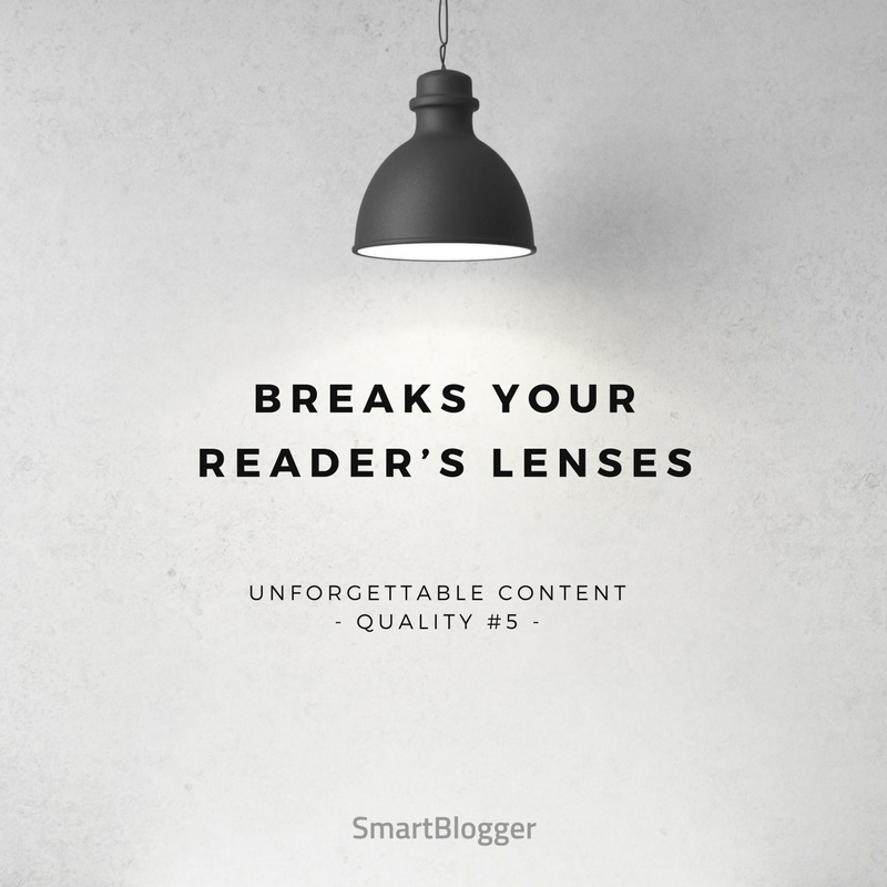 Breaks Your Reader's Lenses