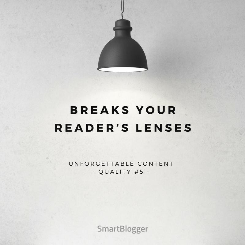 Breaks Your Reader's Lenses