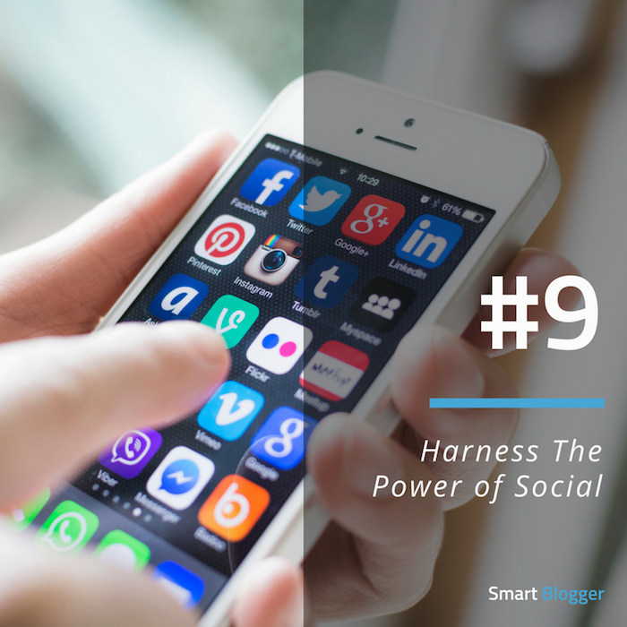 Tip #9. Harness The Power of Social