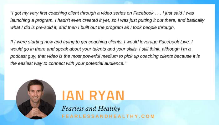 Ian Ryan quote