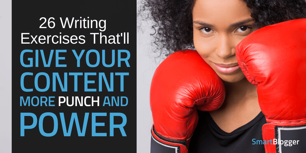 Creative Writing Exercises That'll Punch Up Your Writing