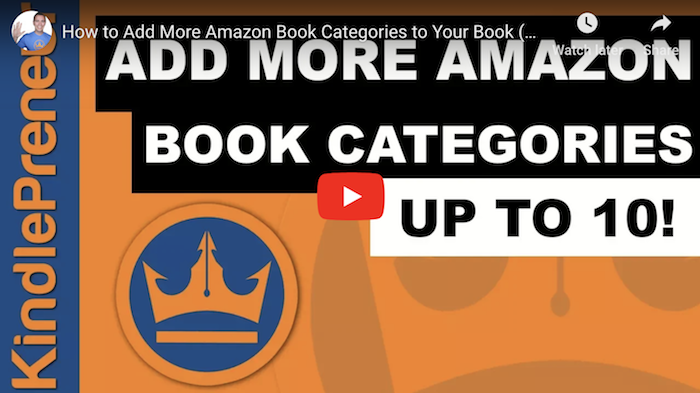 How to Add More Amazon Categories to Your Book
