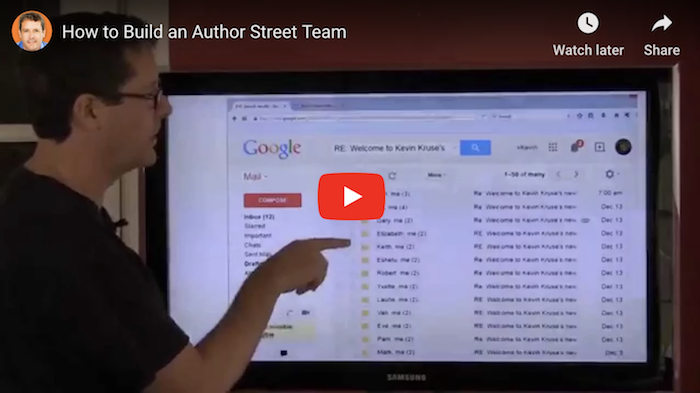 How to Build an Author Street Team