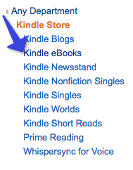 Select Kindle eBooks