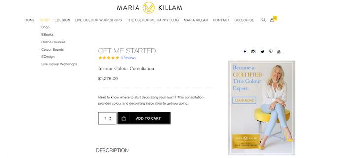 Maria Killam - Consultations