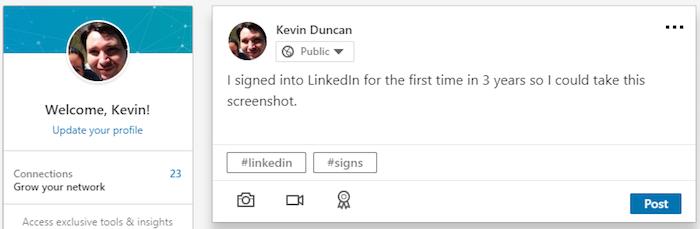 LinkedIn - Profile