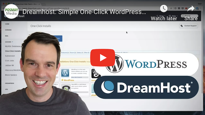 DreamHost WordPress Tutorial