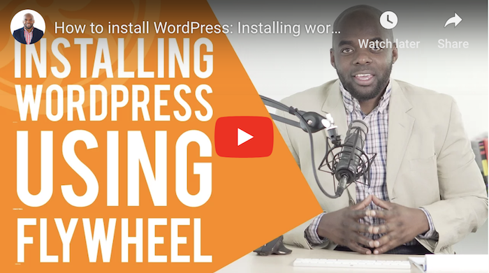 Flywheel WordPress Tutorial