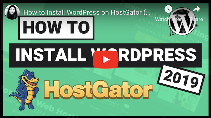 HostGator WordPress Tutorial