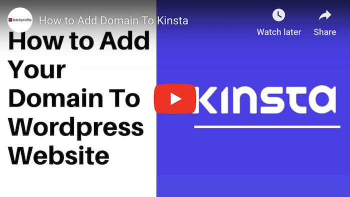 Kinsta WordPress Tutorial