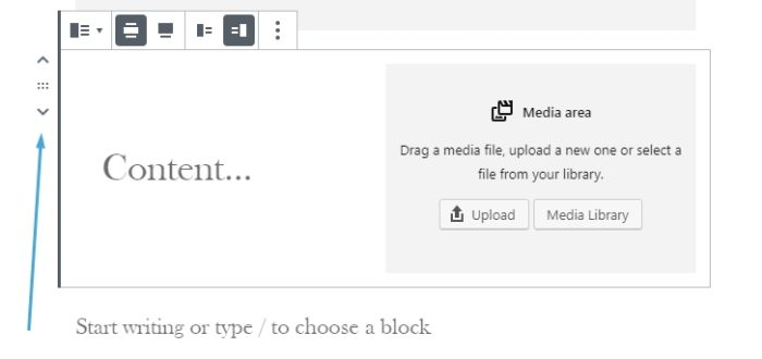 038 wordpress block editor rearrange blocks
