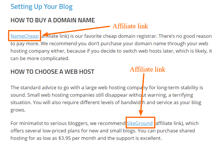 Smart Blogger affiliate links