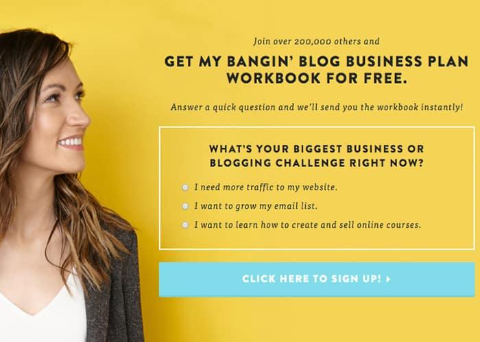esempio di segmento di email marketing