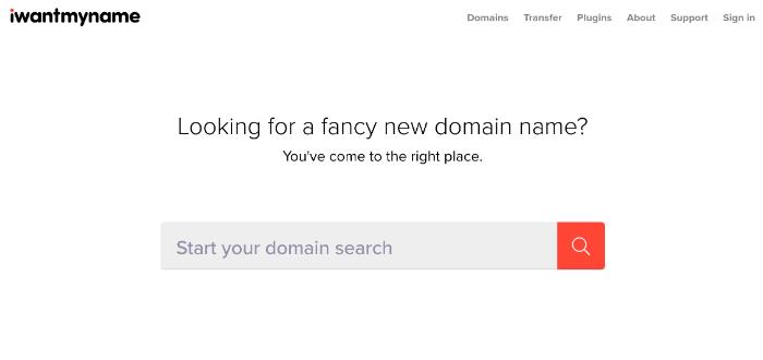 blog name generator iwantmyname