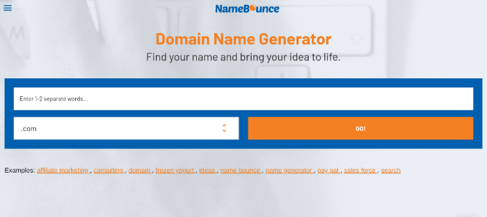blog name generator namebounce